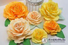 3D-s rózsák papírból - Sizzix Bigz L - 658528