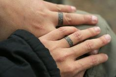 30 romantic wedding ring finger tattoo designs and ideas - Wedding Ring Finger Tattoos