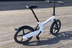 Gocycle: Kompakt og stilig, med flere spennende løsninger. (Foto: BRYNJULF BLIX) Bicycle, Vehicles, Bicycle Kick, Bike, Trial Bike, Bicycles, Vehicle, Tools