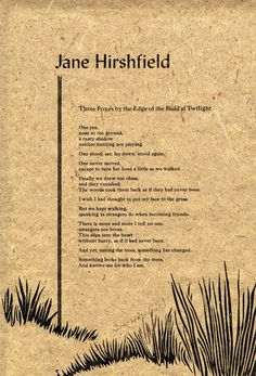 """Poem by Jane Hirshfield. """"Three Foxes by the Edge of the Field at Twilight."""" Paradise Valley, AZ❤️"""