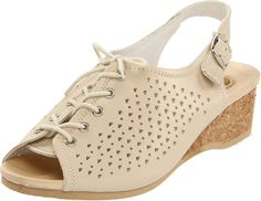 Worishofer Women's 583 Slingback Sandal * Discover this special product, click the image : Wedge sandals