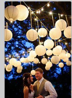 Nights wedding, lanterns - part duex