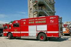 Milwaukee Dive Rescue by Susan McMenamin Fire Dept, Fire Department, Firefighter Tools, Fire Equipment, Firetruck, Fire Apparatus, Search And Rescue, Emergency Vehicles, Fire Engine
