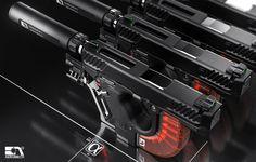 POTD: The AEROMECH APS-F1 Handgun System Concept -The Firearm Blog Zombie Weapons, Sci Fi Weapons, Concept Weapons, Fantasy Weapons, Weapons Guns, 3ds Max Tutorials, Design Tutorials, Athens Airport, Filter
