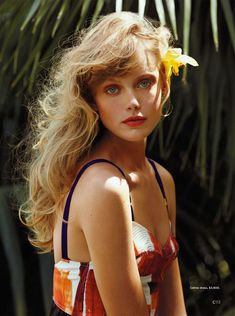 Frida Gustavsson Heads to the Tropics for C Magazine by Hilary Walsh