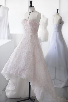 Dior - Embroidered By Hand Wt. Thousands Of Flowers Haute Couture Dress Designed By Raf Simons For Natalie Portman - Miss Dior Film Dior Haute Couture, Haute Couture Dresses, Miss Dior, Dior Wedding Dresses, Designer Wedding Dresses, Christian Dior, Beautiful Dresses, Nice Dresses, Dress Form Mannequin