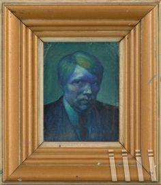 Kjarval - self-portrait