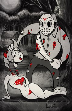 Jason in Toon Town by Devin Lawson / Website / Tumblr