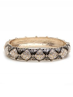 Very elegant & classy... the Black Bazaar Bangle available from BaubleBar $36