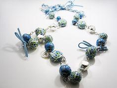 Zandstorm: Halsketting fimokralen (Juwelen,halsketting)
