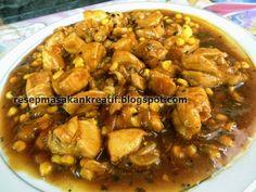 Chicken Mushroom Recipes, Indonesian Food, Indonesian Recipes, Asian, The Dish, Stuffed Mushrooms, Menu, Yummy Food, Diet