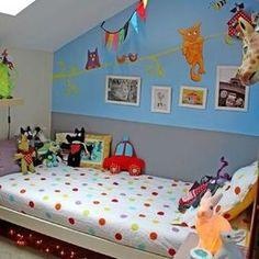 idée chambre d'enfant colorée - bedroom color kid / gloewen et scrat