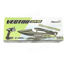 Volantex V797-3 Vector SR48 Brushless RTR ABS Hull 40km/h Self-righting Boat Sale - Banggood.com
