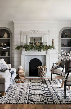 Modern Farmhouse Living Room Decor Ideas (29)