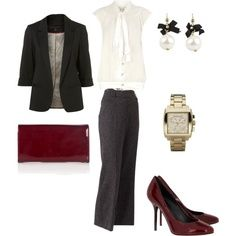 polyvore interview outfits - Google Search