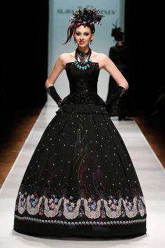 Slava Zaitsev Haute Couture MBFWR SS 2014