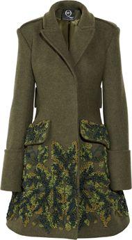 McQ Alexander McQueen coat Fall 2012 Designer Clothes Sale 8f6394a178558