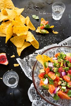 Blood Orange Salsa