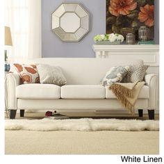 Uptown Modern Furniture Toronto 1960's mid century modern white vinyl sectional sofa retro couch
