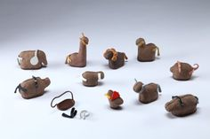 Recycling / Compost,Inhabitots,Green Products,Green Materials,DIY,Animals,art,mud toys,biodegradable toys,earth animal toys,israeli design,Bezalel Academy of Art and Design,