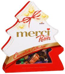 "Шоколадный набор Merci Petits ""Ёлочка"" 200г"