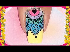 Design Design, Youtube, Nail Designs, How To Make, Easy Mandala, Step By Step, Dekoration, Youtubers, Youtube Movies