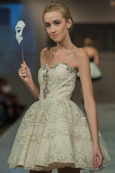 Stunning gown from Silvia Bours at #PHXFW