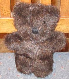 "6"" 1990 DAKIN Very Soft DARK BROWN Teddy Bear 27 #Dakin"