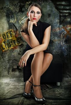 Pantyhose for the Romantic Artistic Model Confident Woman, Hottest Models, Hosiery, Character Shoes, Tights, Stockings, Beautiful Women, Legs, Female