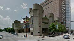 Alley Theater - 1968 by Ulrich Franzen Houston USA Artstreetecture