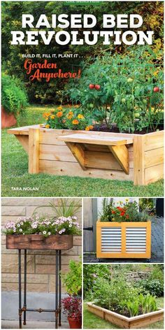 The Raised Bed Revolution by Tara Nolan shares dozens of way to improve your garden with container gardening.