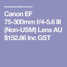 For a no fuss cheap and easy to use telephoto lens for sport or children playing and so on, this is a perfect entry point for beginners and those on a budget. Get started and upgrade later. Canon L Series, Canon Ef, Kids Playing, Lenses, Search, Boys Playing, Children Play, Searching
