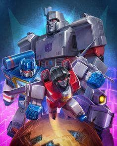 Transformers Print - Sara Pitre-Durocher