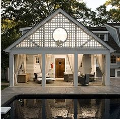 love this roof idea for a porch addition