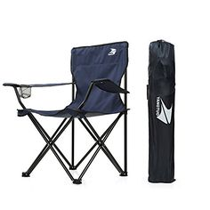 Yangtuo Camping Folding Quad Chair With Carry Bag Navy ** See this great product.(This is an Amazon affiliate link and I receive a commission for the sales)