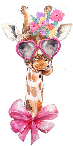 Evening Greetings, Goeie More, Baby Illustration, Birthday Clipart, Giraffe Art, Image Originale, Cute Cartoon Drawings, Morning Greetings Quotes, Granny Square Crochet Pattern
