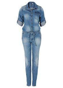 Le combipantalon en jean, RAINBOW, medium bleu bleached