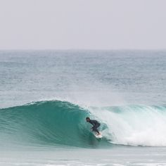 Aritz Aranburu managing to find a clean barrel in stormy Portugal.   http://quiksilver.com/wetsuits