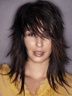 hair on Pinterest | Bangs, Side Bangs and Layered Hairstyles
