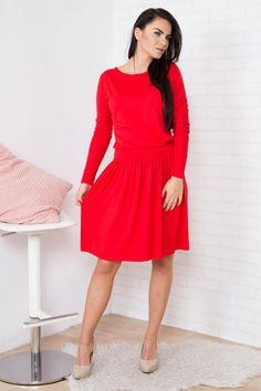 Pentru mai multe detalii vizitati pagina produsului. Rochii 1 Mai, Dresses With Sleeves, Long Sleeve, Vintage, Style, Fashion, Swag, Moda, Sleeve Dresses