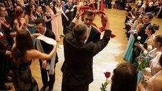 Studentský ples - 2.část - šerpování - 11.2.2017