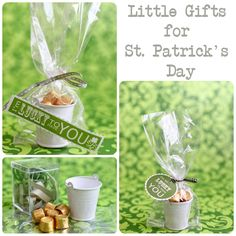 Cute little gifts St. Patrick's Day