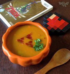 "Pumm's Pumpkin Soup from ""The Legend of Zelda: Skyward Sword""."