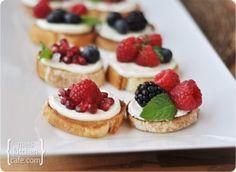 Sweet Berry Bruschetta