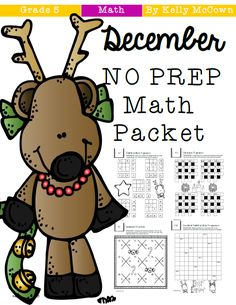 DecemberNO+PREP+Math+Packet+g5+by+kelly+mccown.png (551×713)