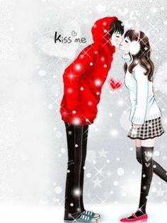 Cute Glitter Graphics | Animated GIFs » Love » Cute Couple
