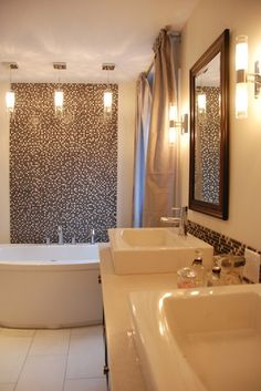 Master Bathroom Dressing Vanity Design, Pictures, Remodel, Decor and Ideas - page 30lighting and tile location