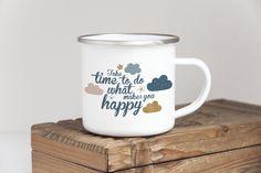 Products Make It Yourself, Mugs, Tableware, Happy, How To Make, Products, Dinnerware, Happy Happy Happy, Mug