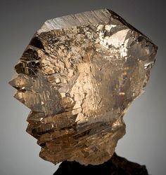 mineralia:  Smoky Quartz from Switzerlandby Exceptional Minerals