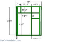 5x5 Deer Blind Plans | HowToSpecialist - How to Build, Step by Step DIY Plans Quail Hunting, Deer Hunting Tips, Deer Hunting Blinds, Coyote Hunting, Pheasant Hunting, Turkey Hunting, Archery Hunting, Archery Tips, Hunting Stands